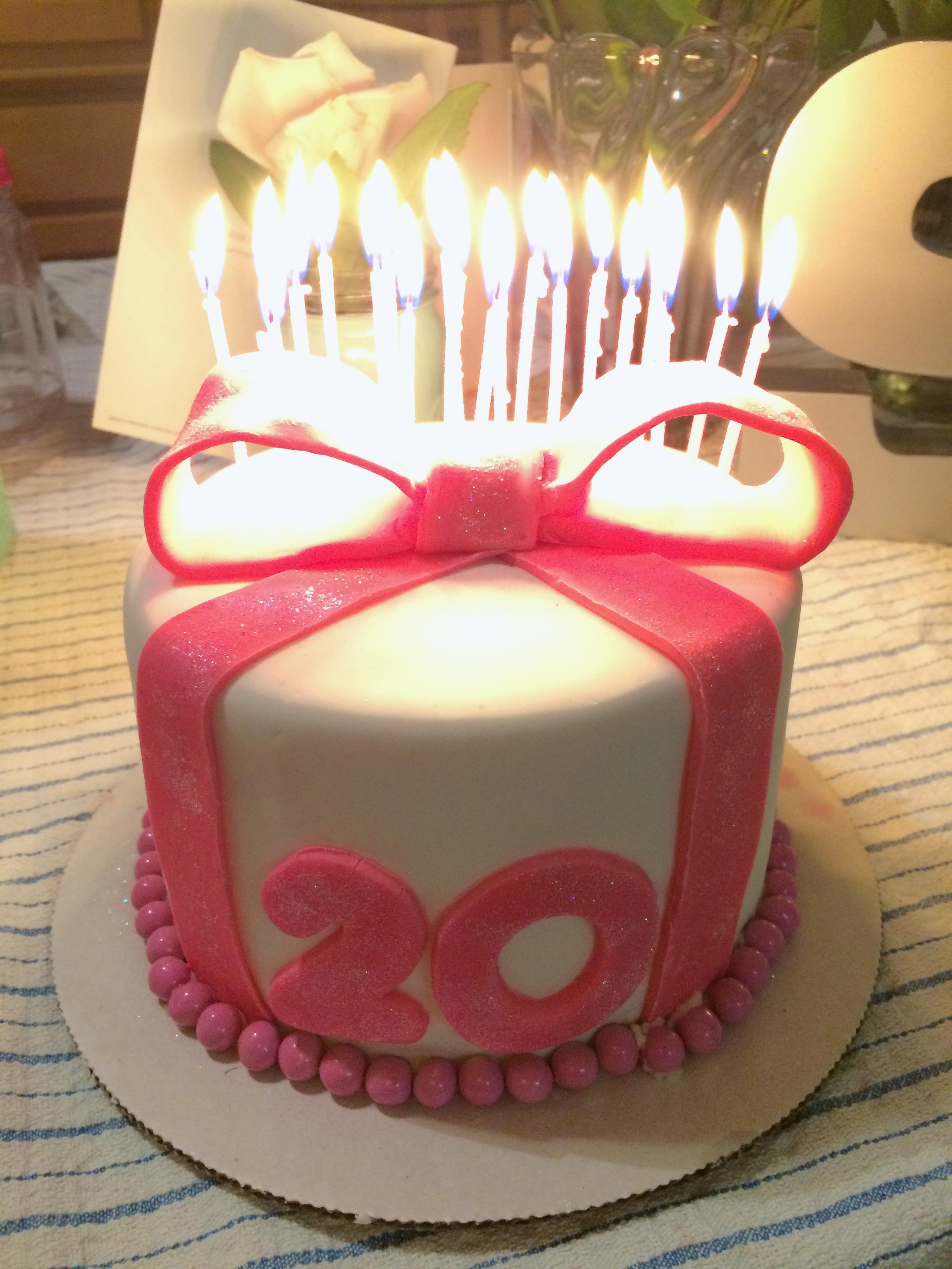 20th Birthday Duffs Cake Mix La Vie Par Shelby